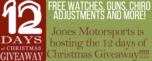 12 Days of Giveaways - Snowmobiles