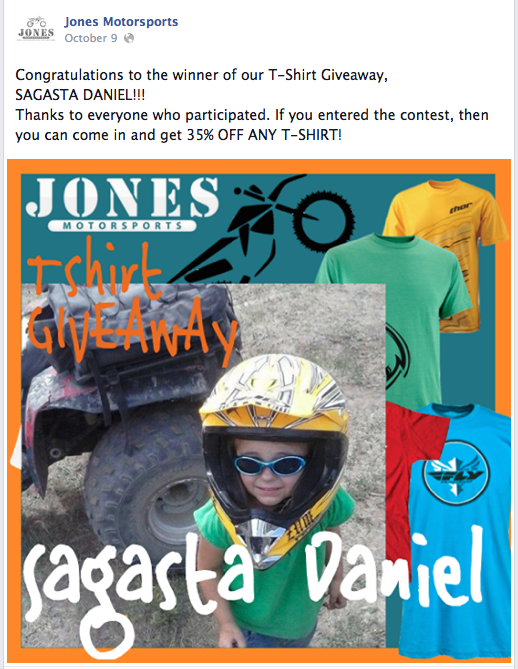 Motorcycle Shop Facebook Specials in Idaho Falls