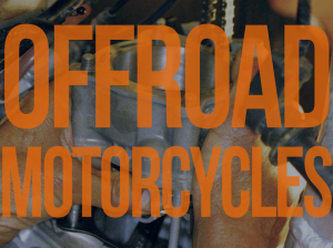 Offroad motorcycle repair