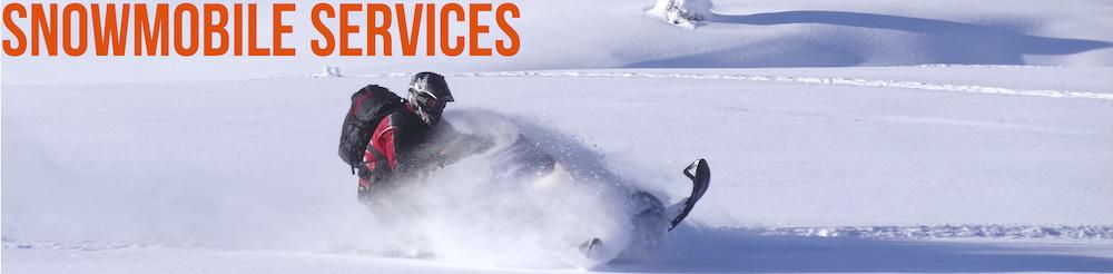 Snowmobile Repair Services Header